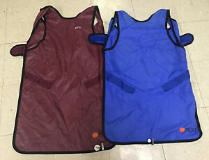 2 Used Picker Brand Personal Radiation Protection X ray Aprons