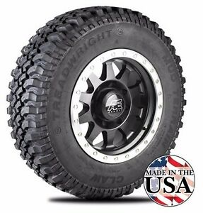 Treadwright Claw 245 75r16e 10ply Mud Terrain Light Truck Tires Free Shipping