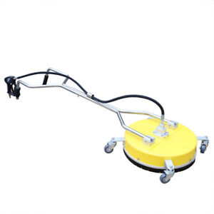 21 4000psi Concrete Or Flat Surface Cleaner Pressure Washer Dual Handle Washer