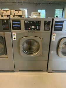 Used 2015 Coin Operated Washer Continental Girbau Rmg055x 55lb 200g Force