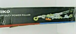 Neiko 02256a Come a long Power Cable Puller Heavy Duty With Three Hooks And Two