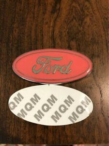 Ford Pink Oval Emblem 3 1 2 Inch For Ranger Escape Fusion Mustang Focus Escort