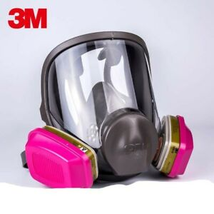 3m 6900 Full Face Respirator W 1 Pr 60926 P1oo Multi Gas vapor Cartridge Large