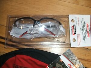 Lincoln Electric K2966 1 Finish line Clear Indoor Welding Safety Glasses New