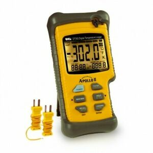 Uei Dt302 Digital Logging Thermometer Dual Input