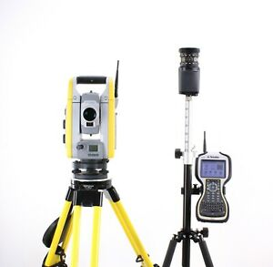 Trimble S6 3 Robotic Total Station W Tsc3 Data Collector Access Software