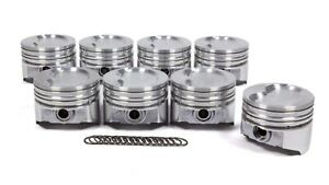 Kb Performance Pistons Sbf 351w D cup 2v Piston Set 4 030 Bore 19 5cc