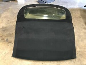 Porsche Boxster Oem 986 97 04 Convertible Upper Soft Roof Folding Top Black