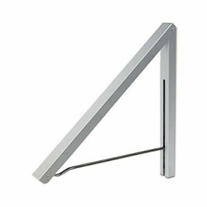Wall Mounted Drying Rack Clothes Hanger Folding Aluminum For Home Storage New