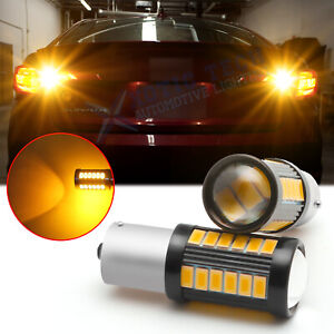 Led Rear Turn Signal Light Bulbs Amber 1156 For Hyundai Sonata Elantra 1992 2019