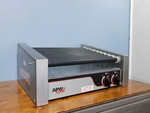 Apw Wyott Hrs 30s Commercial Hot Dog Roller Grill Works Great