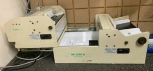 Rb Sun Enterprises Hs 2000ab Business Card Slitter Cutter