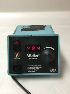 Weller Ec2002m o Soldering Station Power Unit Voltage 120vac 60w 60hz