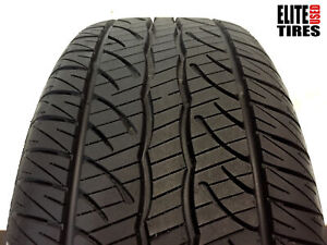 1 Dunlop Sp Sport 5000m P245 45r18 245 45 18 Tire Driven Once