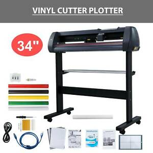 Vinyl Cutter Plotter Cutting 34 Sign Maker Graphics Handicraft Wide Format