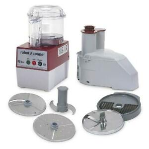 Robot Coupe R2clr Dice 3 Qt Commercial Food Processor W Feed