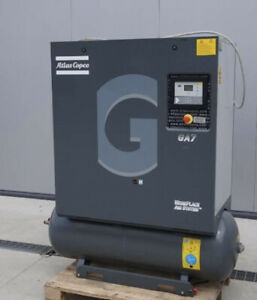 10hp Ga7 Atlas Copco Rotary Screw Air Compressor