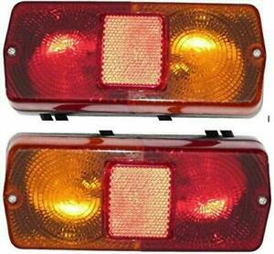 Massey Ferguson Tractor Rear Tail Flasher Taillight Assembly l r Pair Set Uni