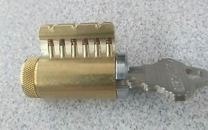 Cutaway Lock Cylinder For Locksmith Practice And Training 6 Pin Schlage Keyway