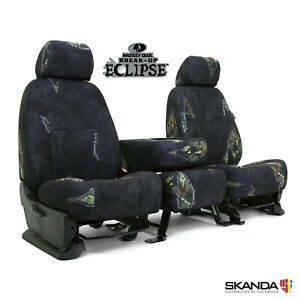 Mossy Oak Eclipse Camo Front Rear Tailored Seat Covers For Toyota Tacoma
