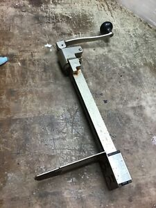 Edlund Industrial Can Opener Size No 1 With Base