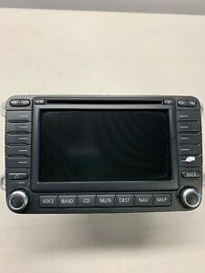 06 11 Vw Eos Gti Jetta Rabbit Passat Navigation Navi Radio Head Unit 1k0035197c