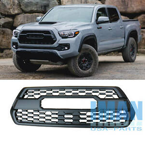 Front Grill Bumper Hood Grille With Letters For Toyota Tacoma Trd Pro 2016 2019