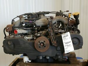 2004 Subaru Legacy 2 5 Engine Motor Assembly Ej25 172 461 Miles No Core Charge