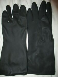 Chemical Resist Waterproof Gloves Protective Cleaning Safety Work Medium 12 6
