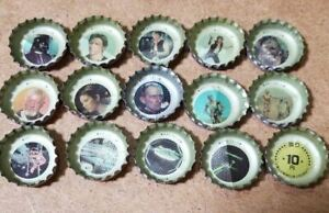 STAR WARS crown Coca-Cola Bottle Caps 15 pieces Showa Retro from Japan Goods