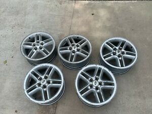 Set Of 5 Land Rover Discovery Range Rover 18 Oem Wheel