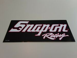 New Vintage Snap On Racing Tool Box Sticker Emblem Decal Ss1208 Pink White