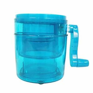 Manual Ice Shaver Shaved Ice Machine portable Hand Crank Operated Ice Breaker I