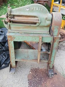 Pexto Metal Cutting Tool Sheet Copper Peck Stow Wilcox Co Nice Other Material