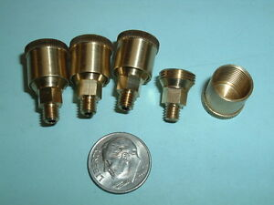 4 Model Hit Miss Gas Engine Or Steam Engine Brass Grease Cups 10 32 Thread