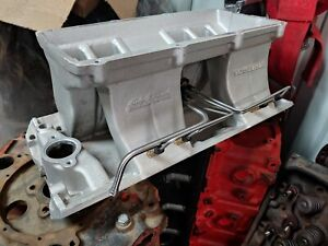 Edelbrock Victor Ram Intake Manifold Base Big Block Rectangular Port