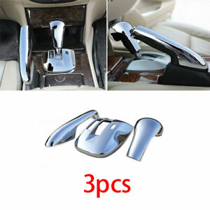 For Honda Accord Crosstour 2008 2012 Chrome Middle Console Gear Shift Trim Cover