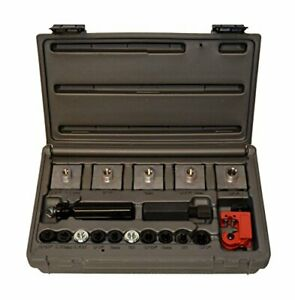 Cal Van Master In Line Double Bubble Flaring Tool Set W Tube Cutter Usa Made
