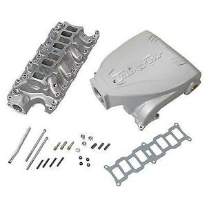 Trick Flow Specialties Intake Manifold Ford 5 0l Track Heat Silver