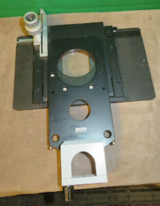 Zeiss Mechanical Microscope Stage 47 52 38 Used