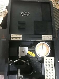 Used Mahr Three Points Thread Micrometer For Measuring Metric Thread
