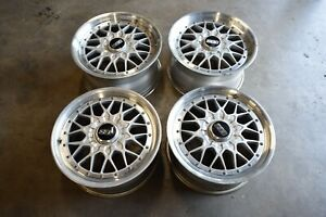 Jdm Bbs Rs Ii Wheels 17x8 45 17x9 45 Offset 5x114 Bolt Pattern Lexus Q45 240sx
