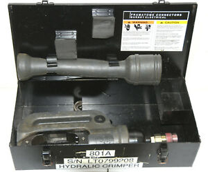 Burndy Y46 Hypress Hydraulic Crimping Tool 10 000 Psi