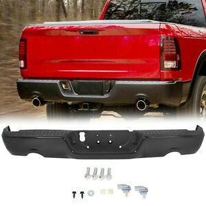 New Rear Steel Step Bumper Assembly For 2009 2018 Dodge Ram 1500 Series 09 18
