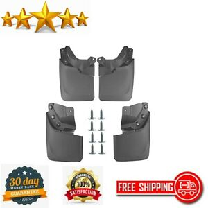 Mud Flaps Splash Guards Replacement For Toyota Tacoma W Oem Fender Flares 4 Pc