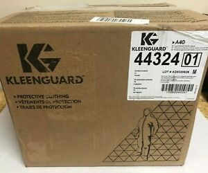 Kleenguard A40 Liquid Particle Protection Coveralls W hood White Xl 25pk