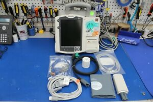 Philips Heartstart Mrx Ecg Spo2 Nibp Etco2 Biomed Re certified 1 Yr Warranty
