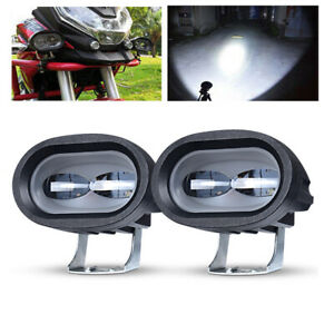 2x Led Work Light Spot 20w Bar White Pods Off Road Motorcycle Atv Suv 4wd Truck