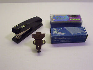 Vintage Ace Brown Staple Remover Plus Acco 54 Stapler And Staples