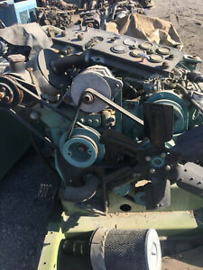 Detroit Diesel 3 53 Engine With At 545 Transmission Airplane Tugger